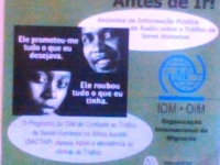 Tenha os factos Antes de Ir (Get the facts before you go) (South Africa & Mozambique, 2004)